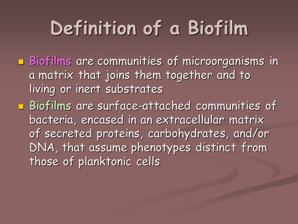 BIOFILM DEFINITION PDF DOWNLOAD