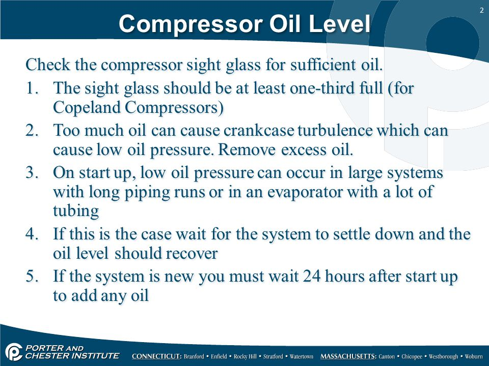 Oil Pressure Problems What to look for  - ppt video online
