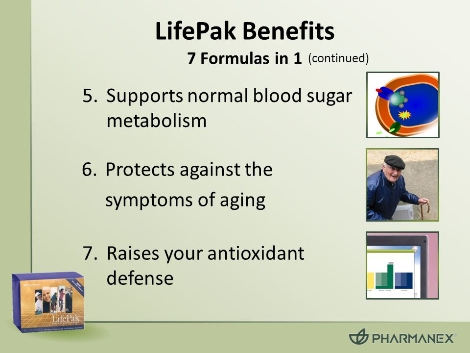 LifePak Benefits 7 Formulas in 1