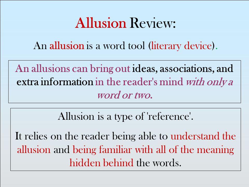10 Examples Of Allusion Literature Wwwbilderbestecom