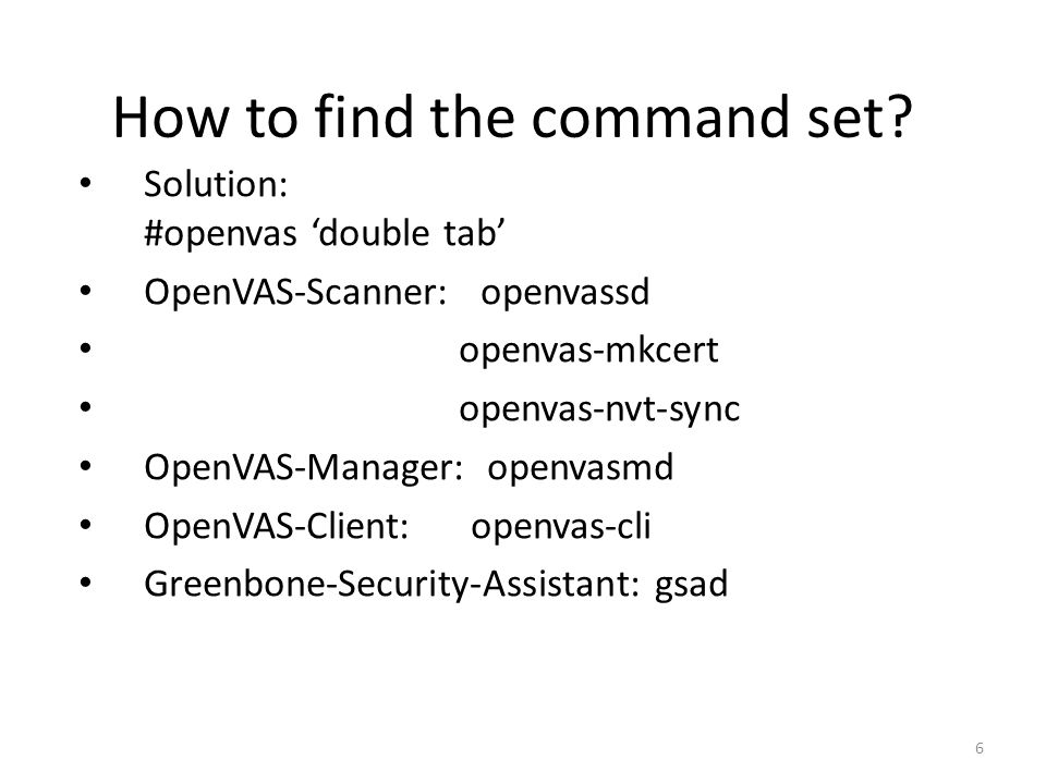 OpenVAS A how-to guide about the most popular vulnerability test