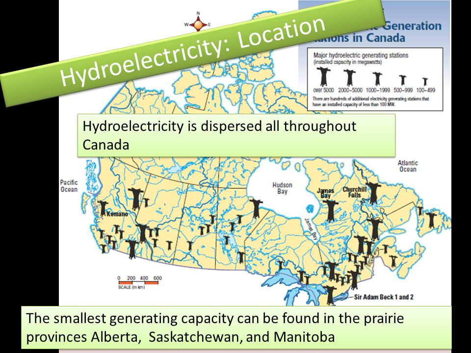 Hydroelectricity: Location