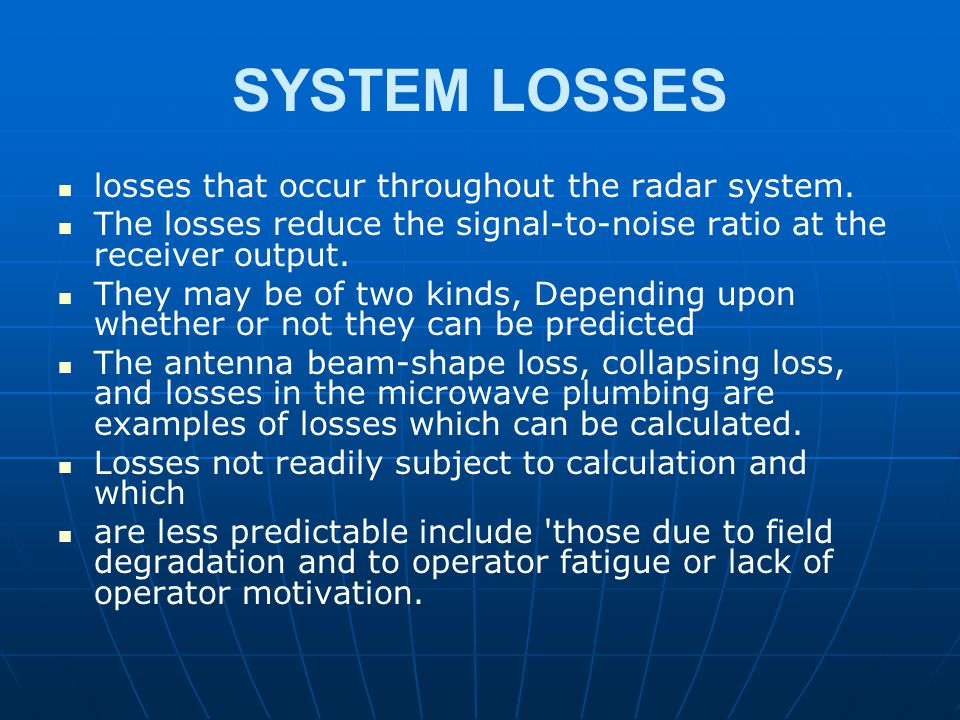 RADAR AND NAVIGATIONAL AIDS - ppt video online download