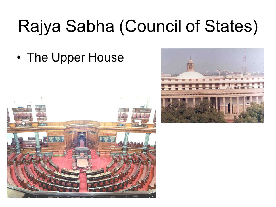 Rajya Sabha (Council of States)