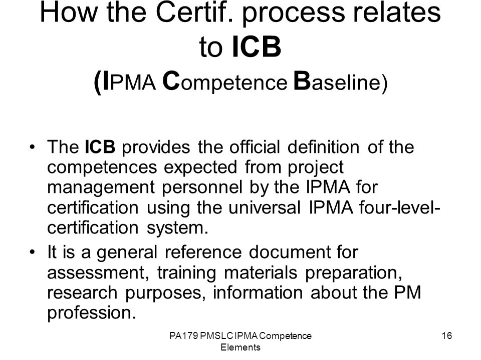 Pppm Competence Elements Ppt Video Online Download