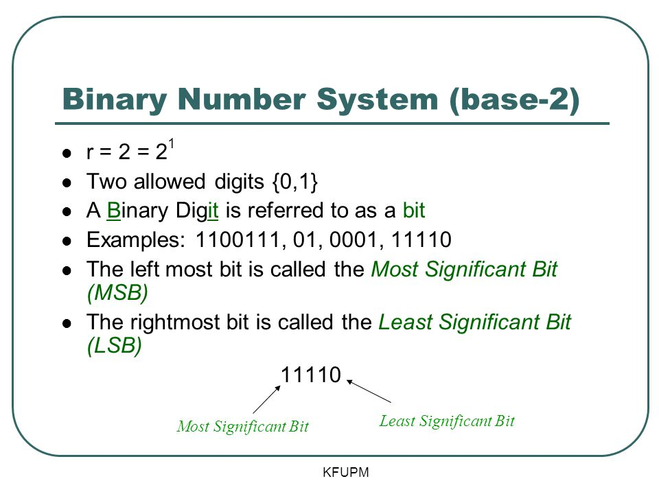 COE 202: Digital Logic Design Number Systems Part 1 - ppt