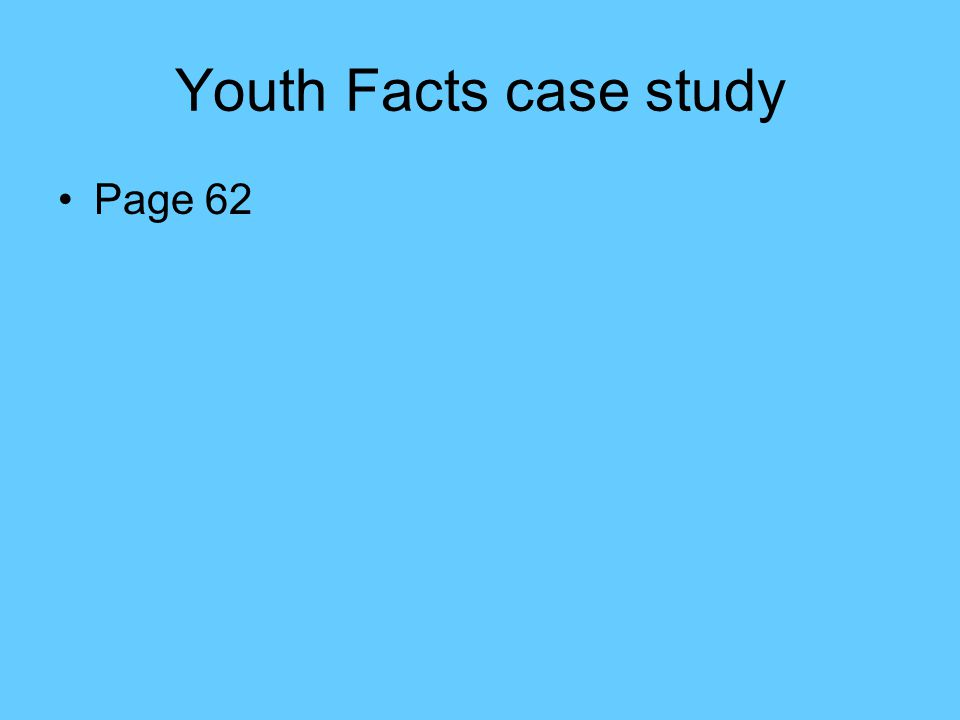 Youth Facts case study Page 62