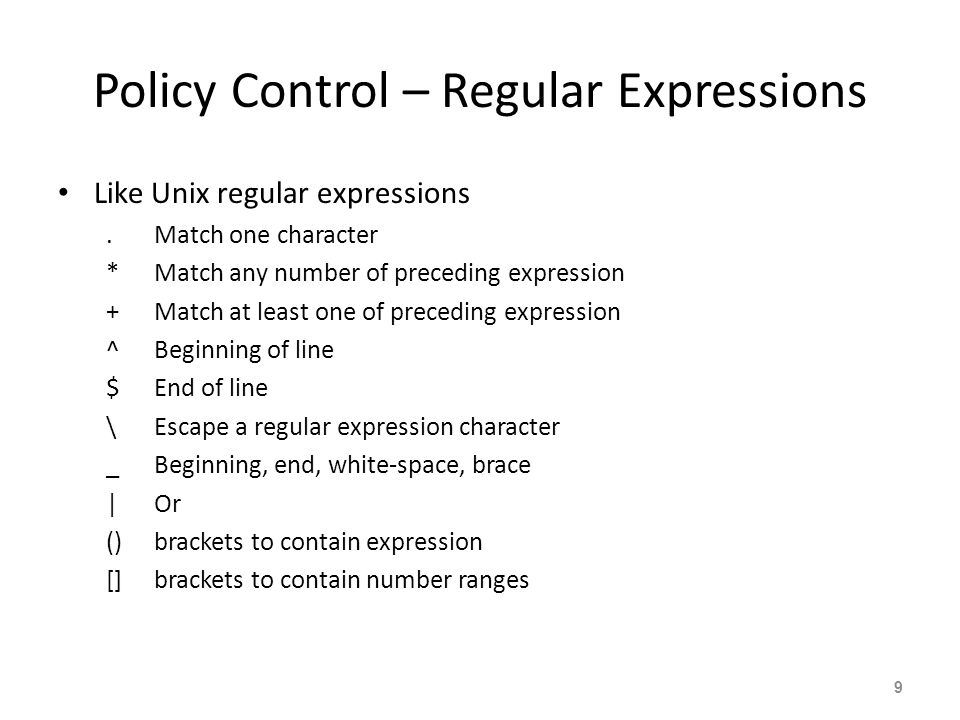 BGP Policy Control  - ppt video online download