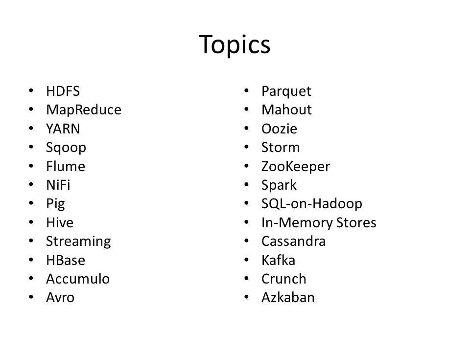 Hadoop Ecosystem Overview - ppt video online download