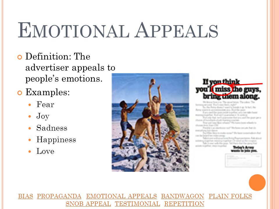 emotional advertising appeals 170 journal of advertising research june 2010 the power of emotional appeals in advertising functional appeals (heath, nairn, and bot-tomley, 2009) is it that affective appeals do.
