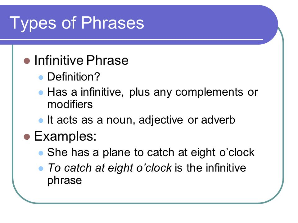 Phrases & Clauses  - ppt video online download