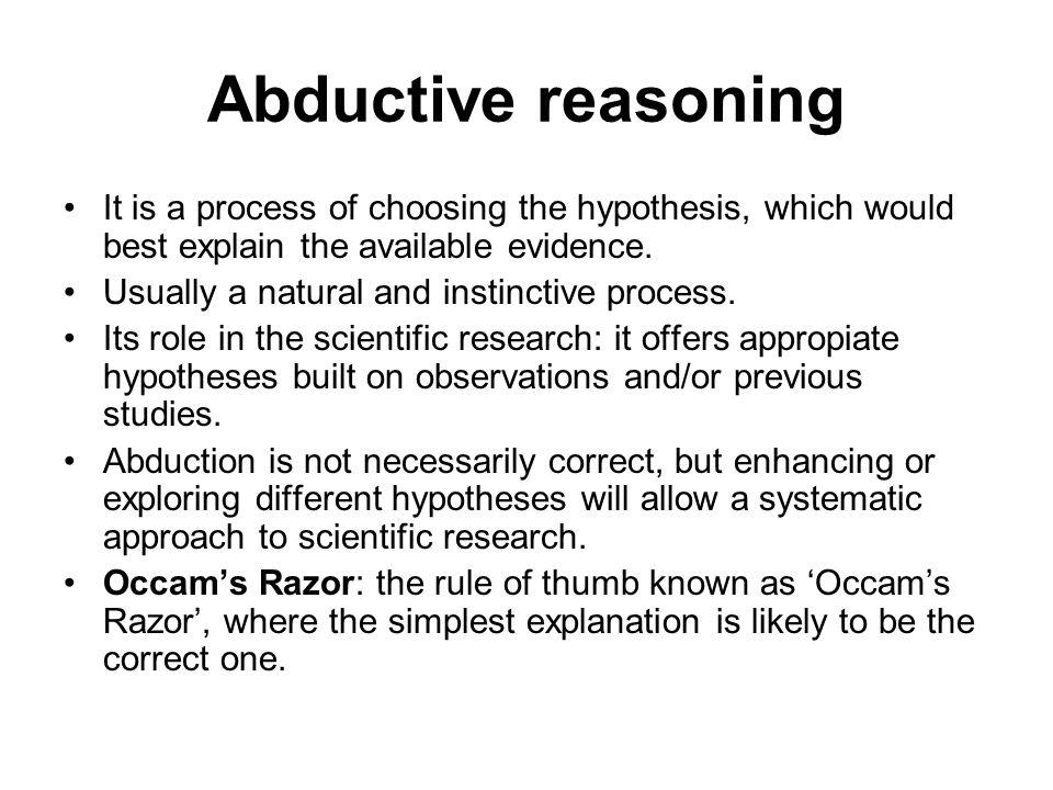 Critical wisdom inductive reasoning.
