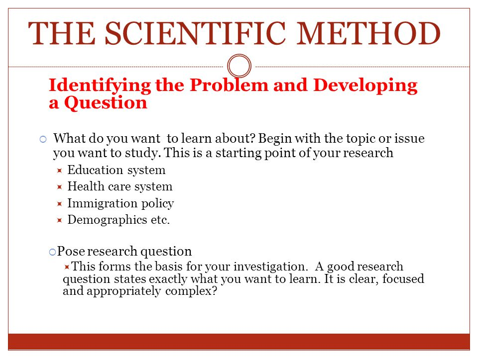 social science research questions