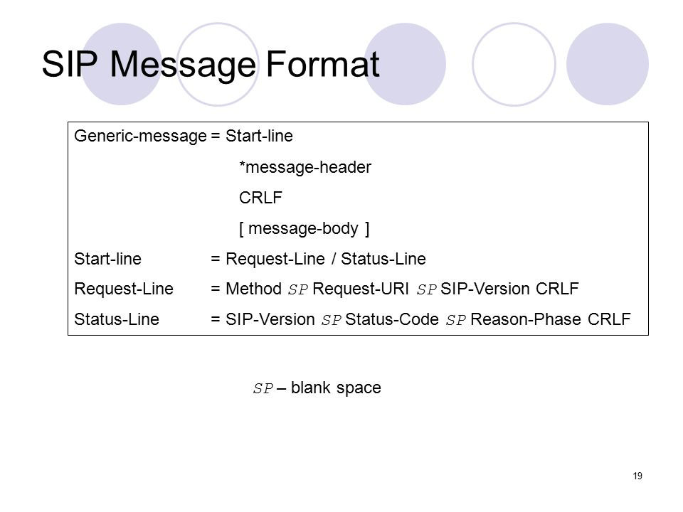 Session Initialization Protocol (SIP) - ppt video online