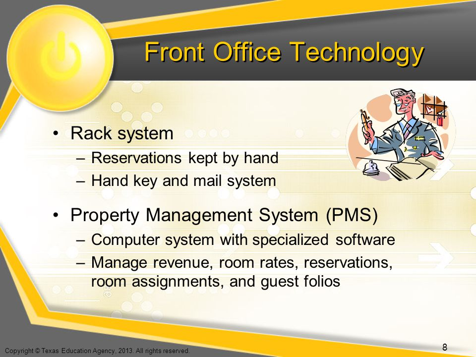 Front Office Technology