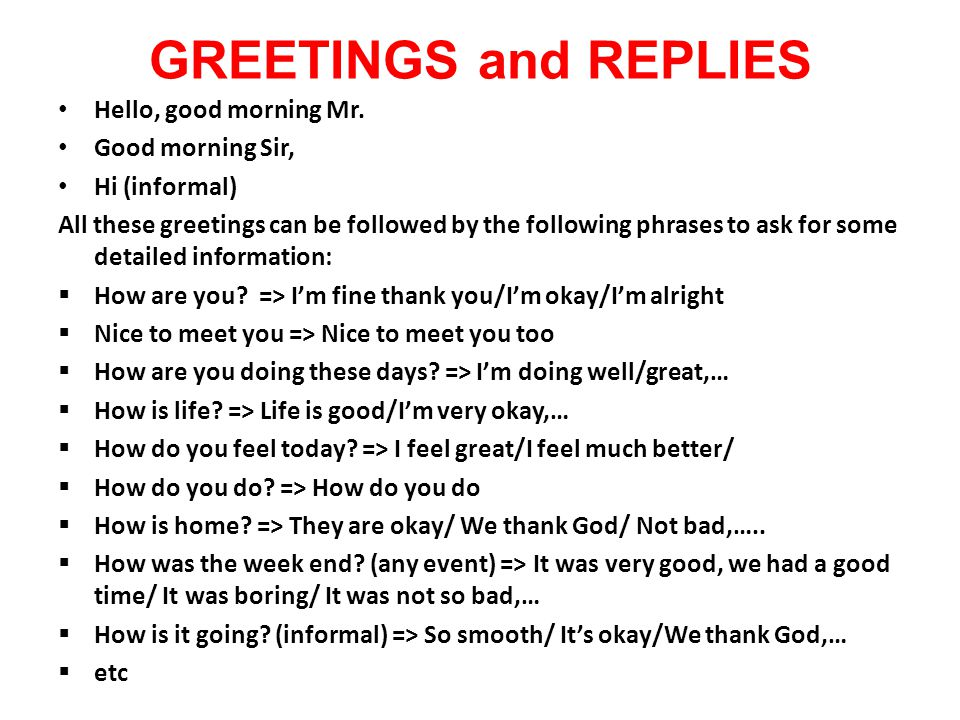 Some important phrases for basic english users ppt video online 2 greetings m4hsunfo
