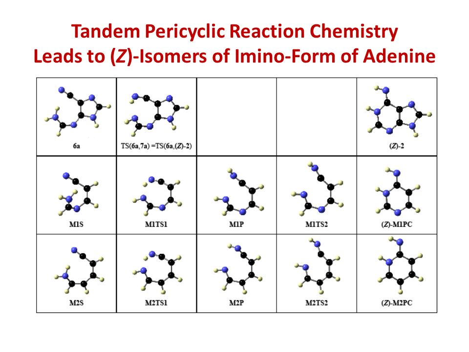 Tandem Pericyclic Reaction Chemistry