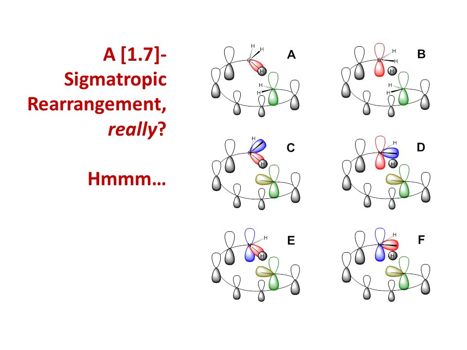 A [1.7]-Sigmatropic Rearrangement, really