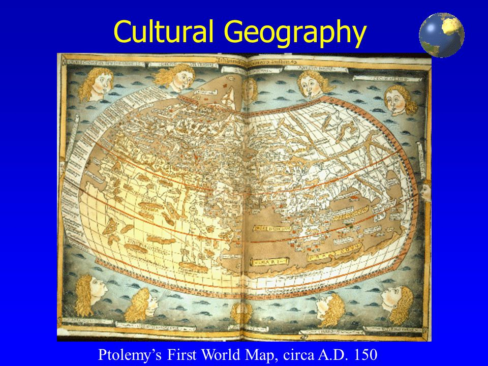 Ptolemys first world map circa ad ppt download ptolemys first world map circa ad 150 gumiabroncs Gallery