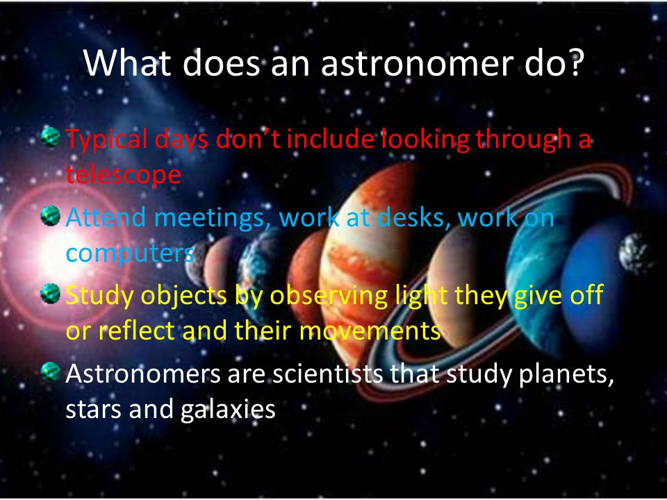 What does astronomy study - answers.com