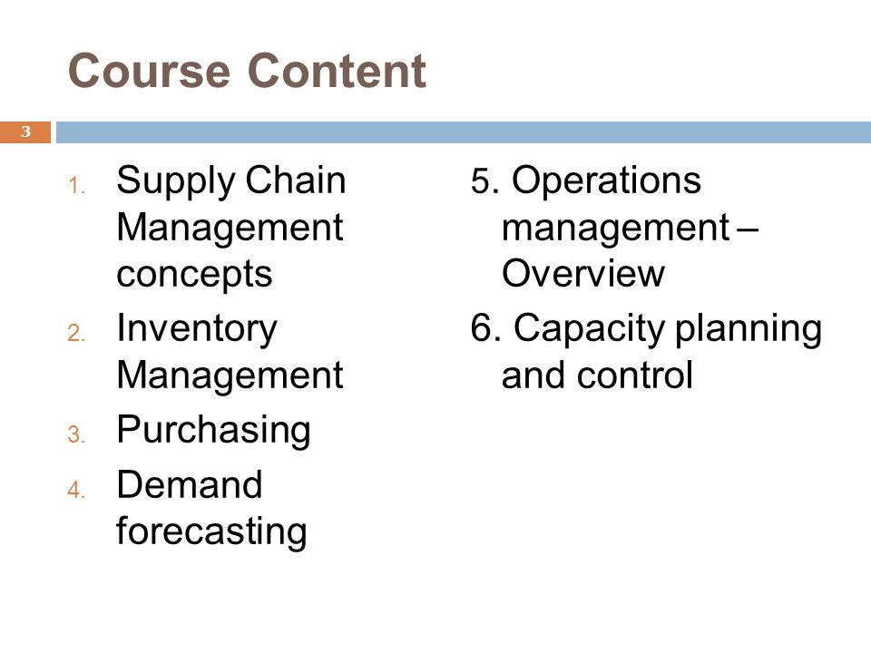 Global Supply Chain Management - ppt download