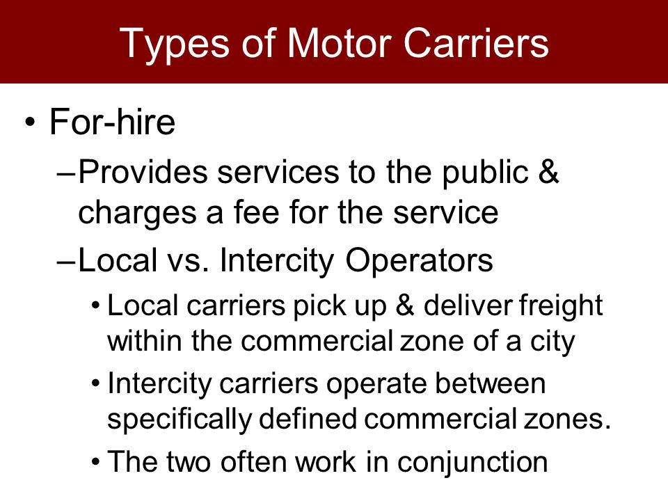 PPT - Rate Determination/Negotiation Mode Choice/Carrier Selection ...