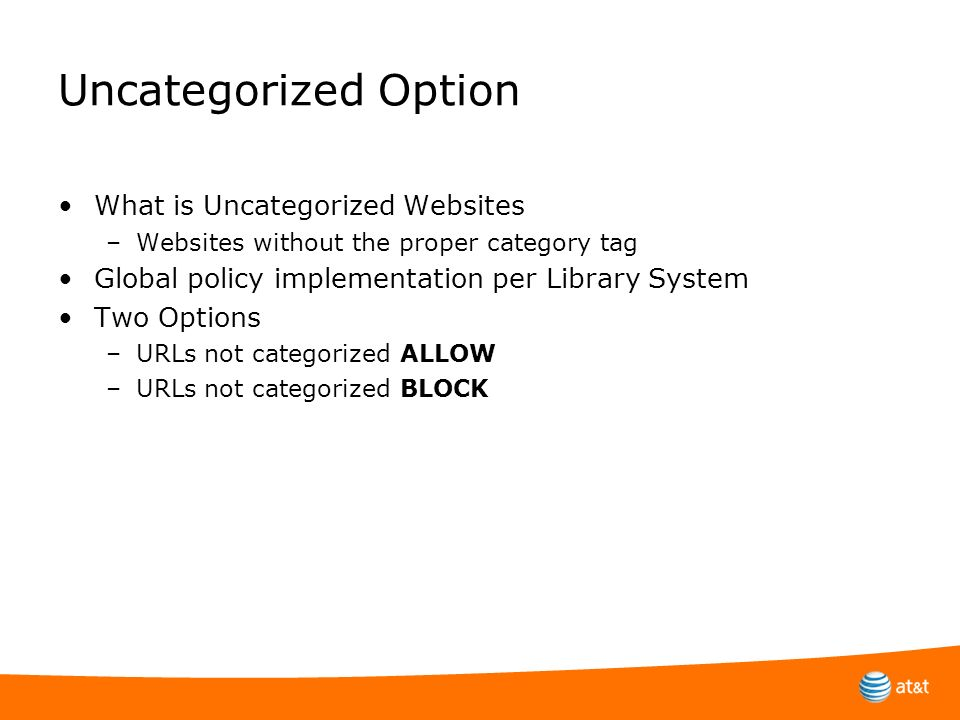 Uncategorized Option What is Uncategorized Websites