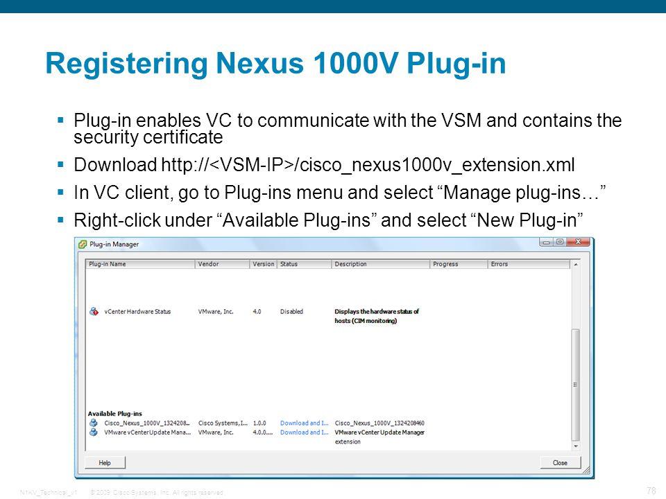 Cisco Nexus 1000V Technical Overview - ppt download