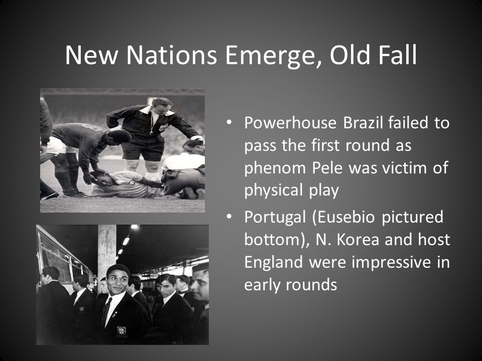 New Nations Emerge, Old Fall