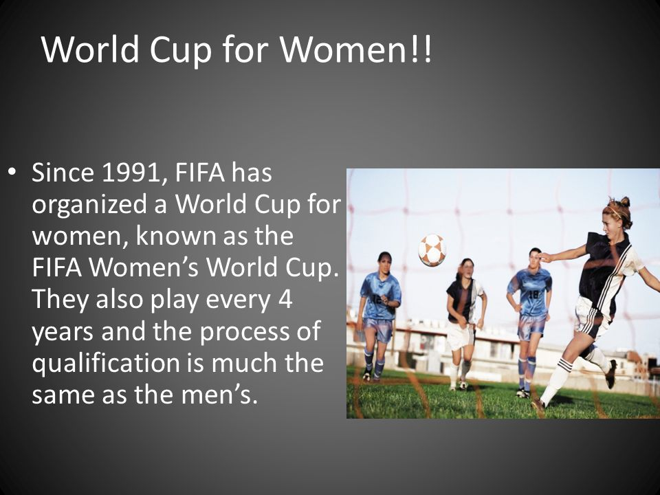 World Cup for Women!!