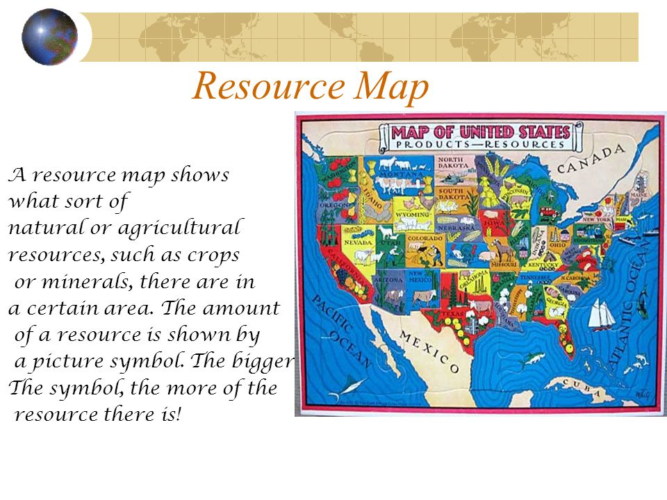 What Is A Resource Map Map Skills 3rd Grade Geography   ppt video online download