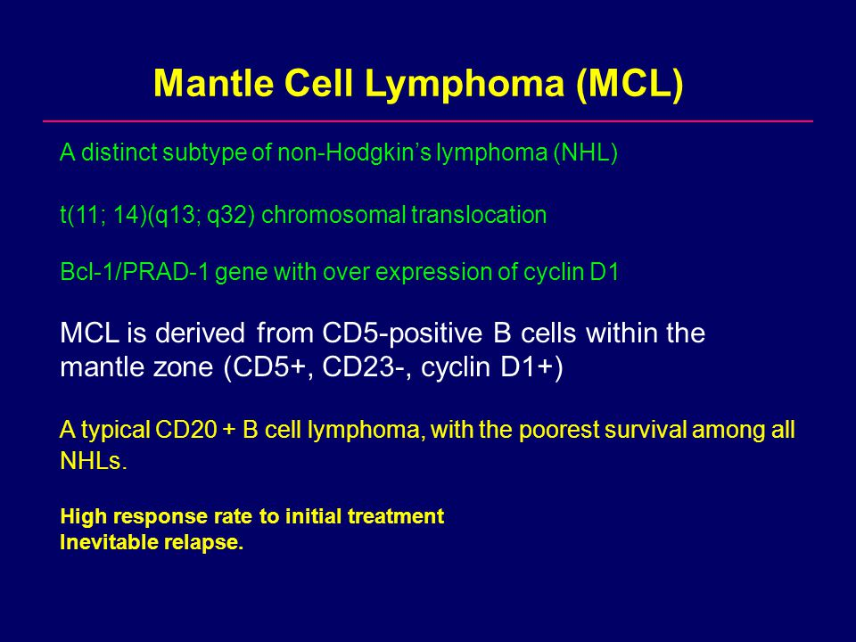 Mantle Cell Lymphoma: from bench to clinic - ppt video