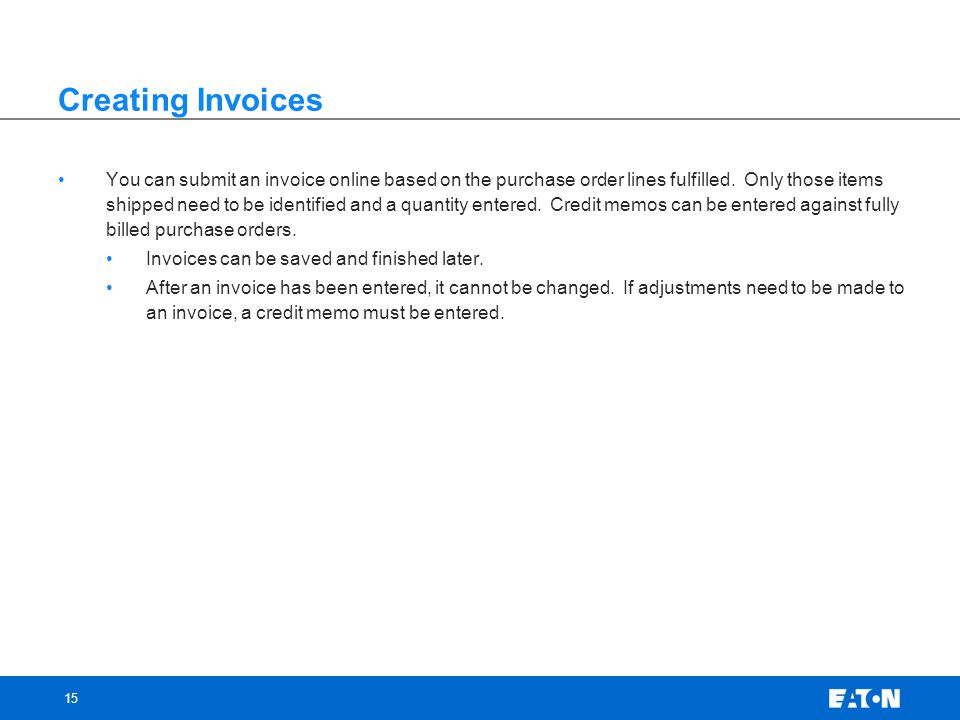 Supplier Invoicing North America Ppt Video Online Download - Order invoices online