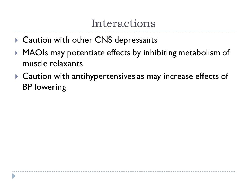 Muscle Relaxants, Substance Abuse and CNS Stimulants - ppt download