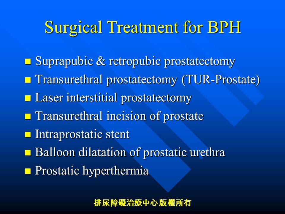 benign prostatic hyperplasia treatment ppt A szexuális élet a prosztatitis kezelése során