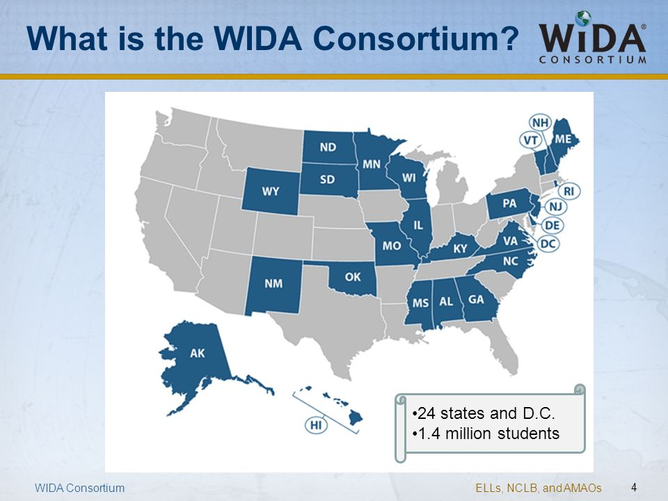 What is the WIDA Consortium