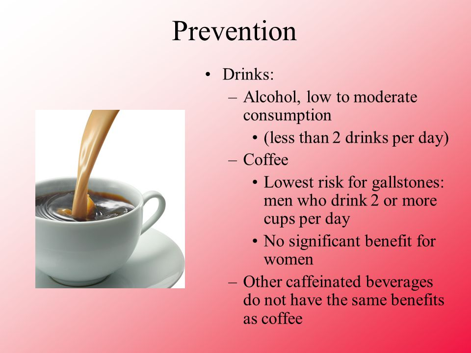 Can I Drink Coffee With Gallstones