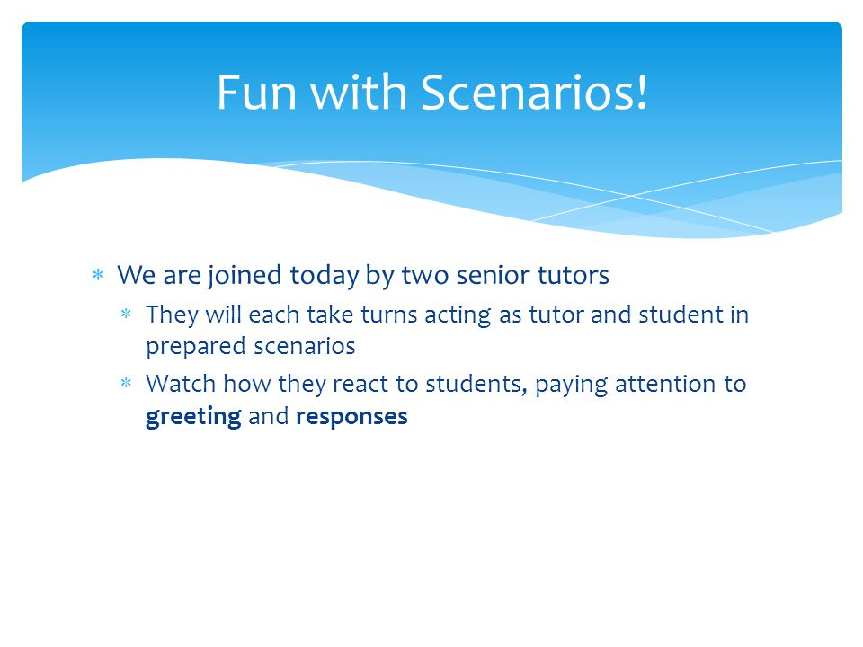 Tips for Beginning & Ending a Tutoring Session - ppt download