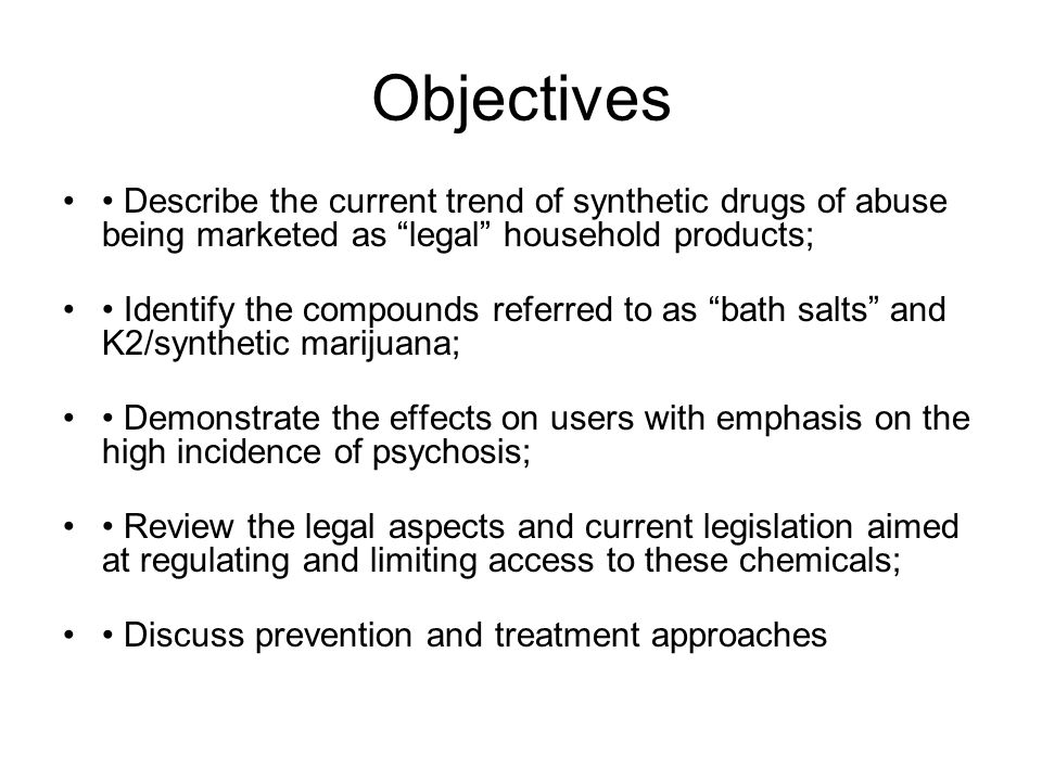 The Real Dangers of Synthetic Drugs in The 21st Century