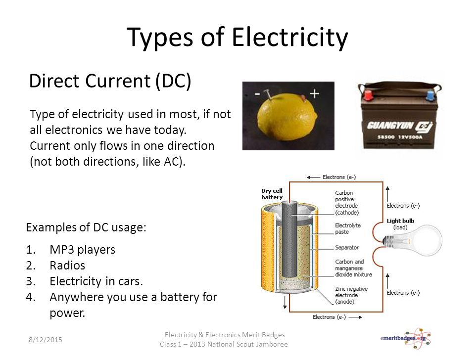 Electricity & Electronics - ppt video online download