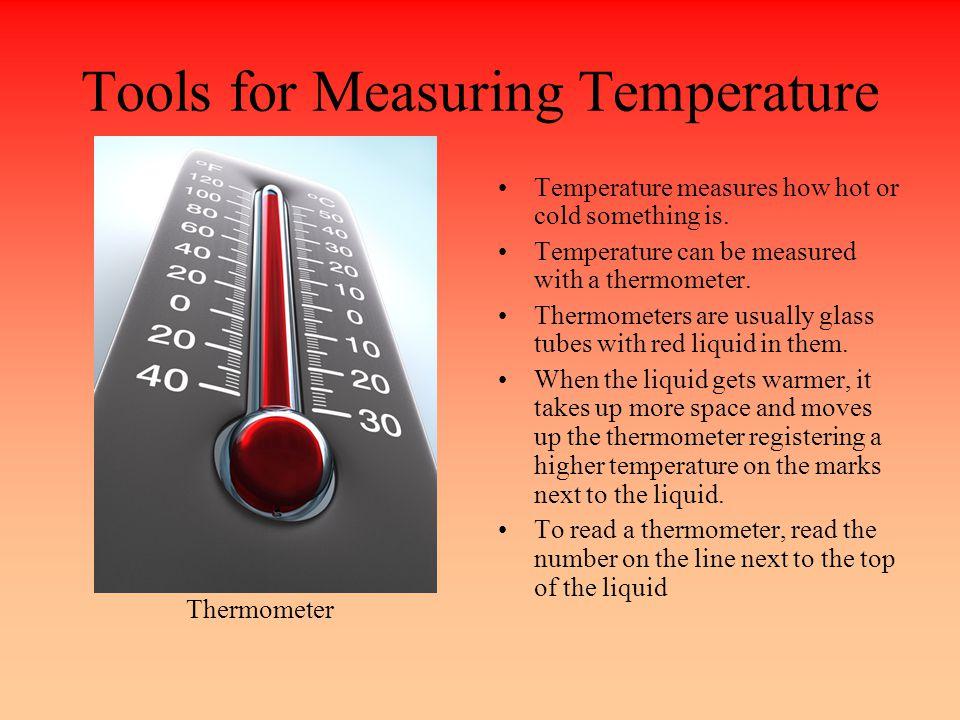 tools for measuring temperature