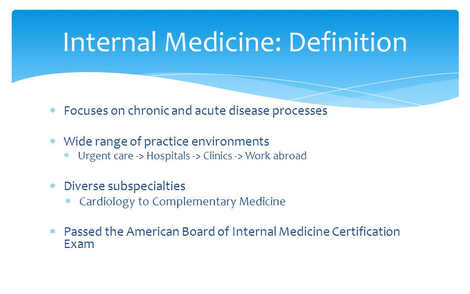Introduction To Internal Medicine Ppt Video Online Download