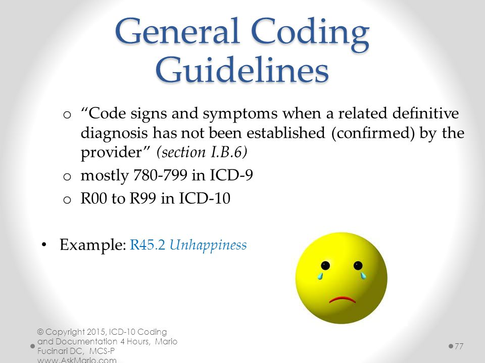 Facial numbness icd 9
