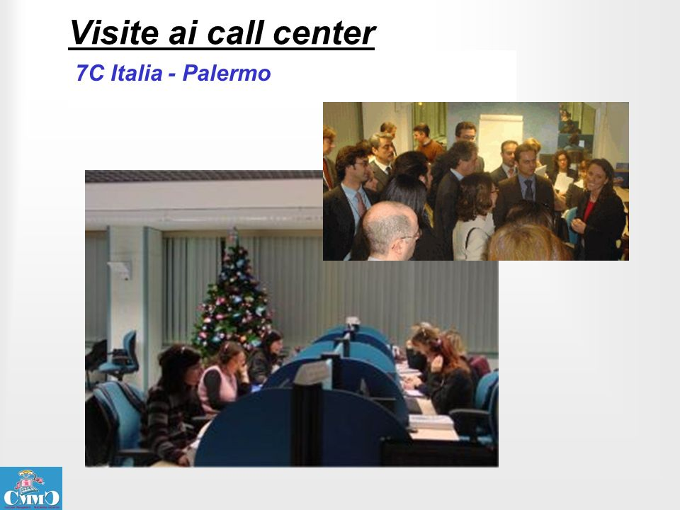 Visite ai call center 7C Italia - Palermo