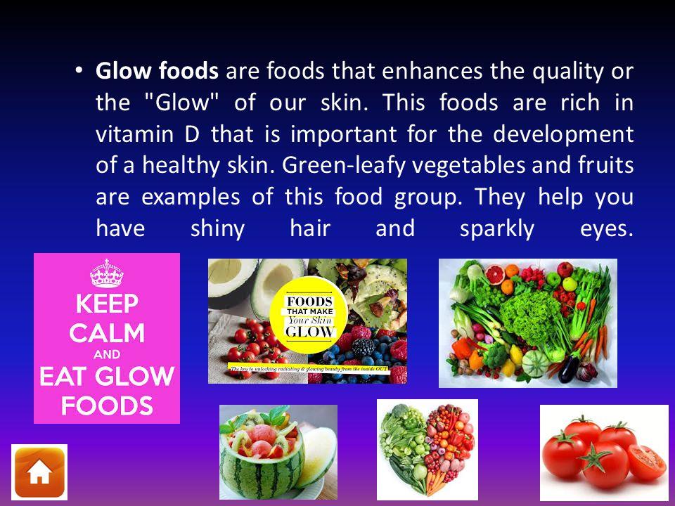 glow foods examples