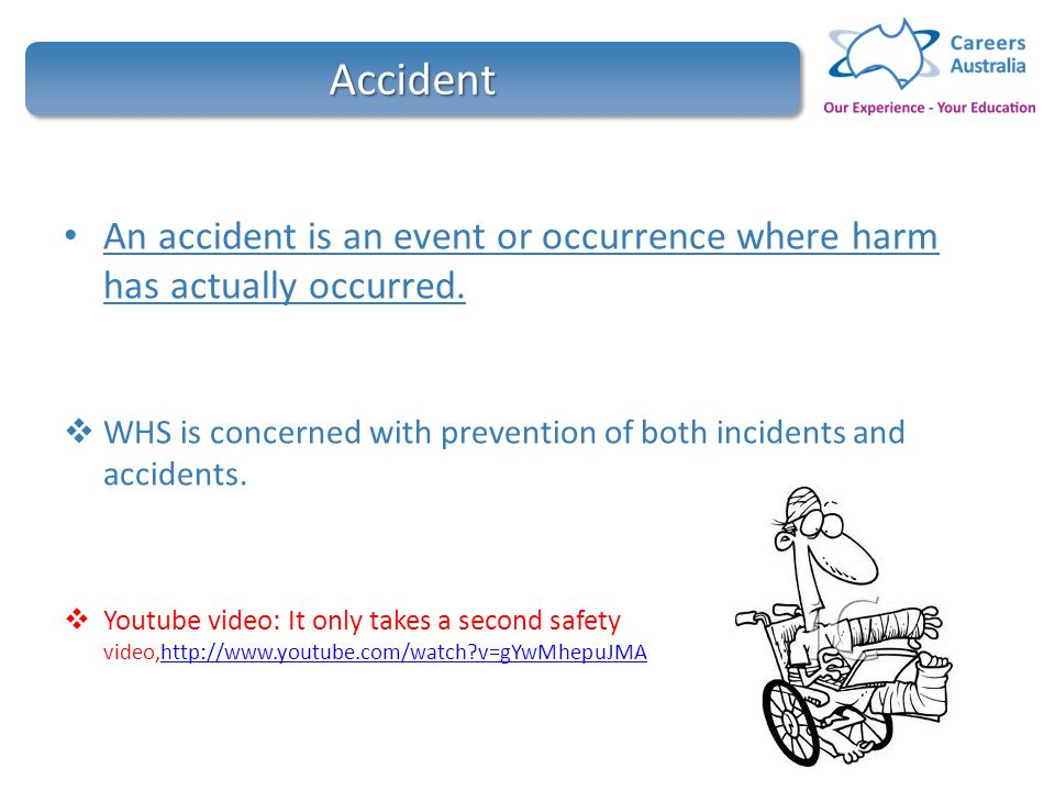 Contribute to ohs processes hltwhs300a ppt video online download 16 accident fandeluxe Choice Image