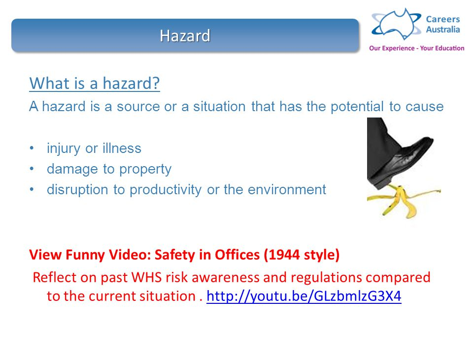 Contribute to ohs processes hltwhs300a ppt video online download 3 hazard fandeluxe Choice Image