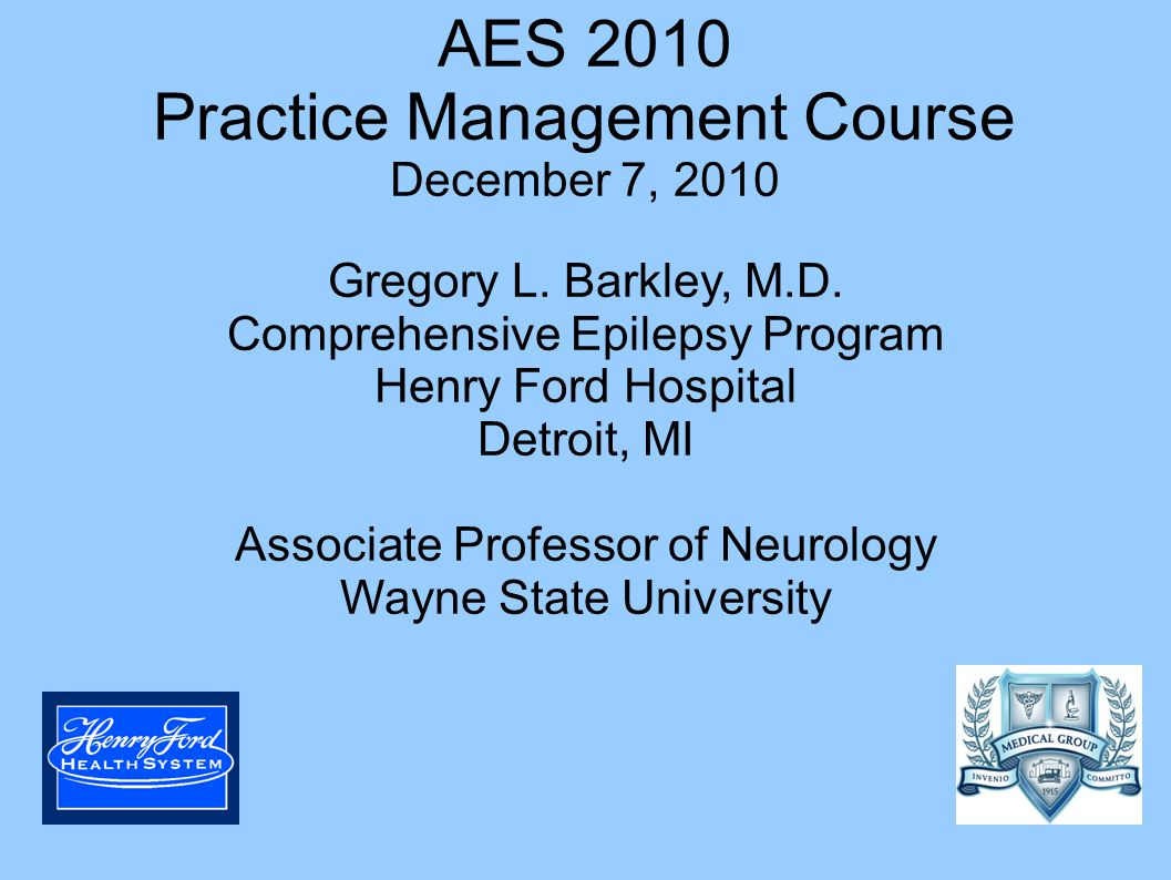 AES 2010 Practice Management Course December 7, ppt download