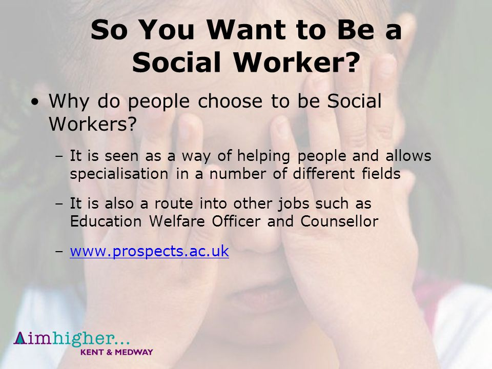 why you want to be a social worker