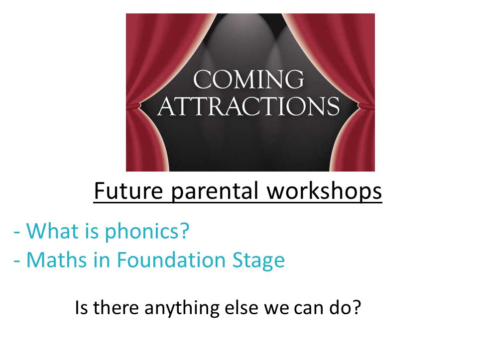 - What is phonics - Maths in Foundation Stage